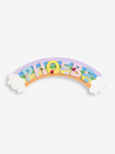 Rainbow Door Plaque