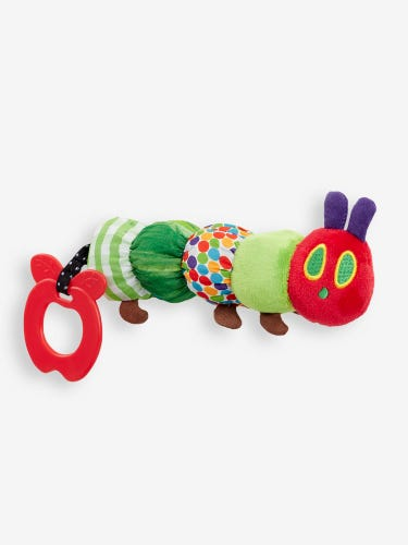 The Very Hungry Caterpillar Teether Rattle