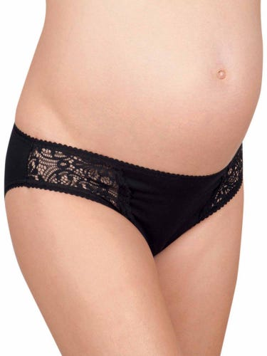 3-Pack Lace Trim Maternity Knickers