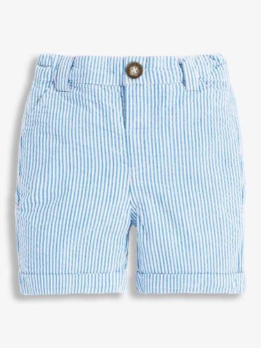 Boys' Blue Seersucker Stripe Shorts
