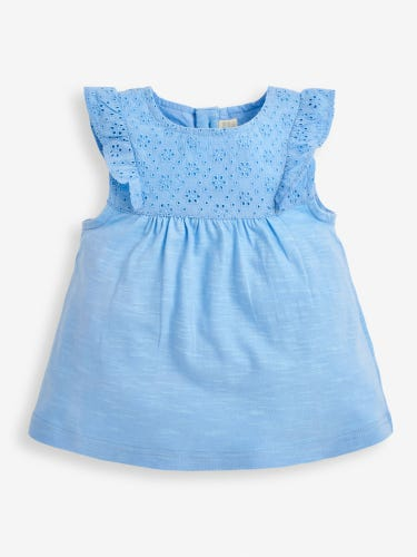 Girls' Pretty Embroidered Top