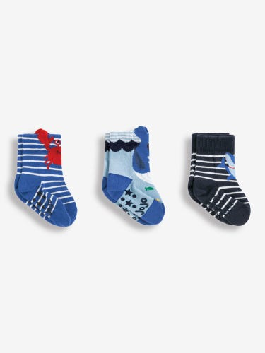 3-Pack Sealife Socks