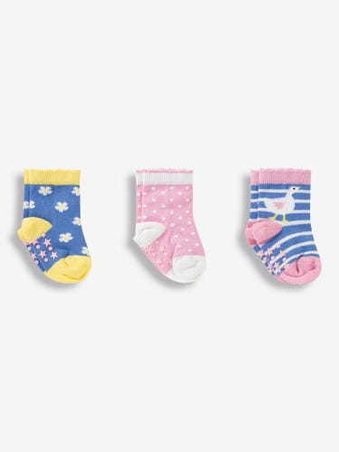 3-Pack Pretty Duck Socks