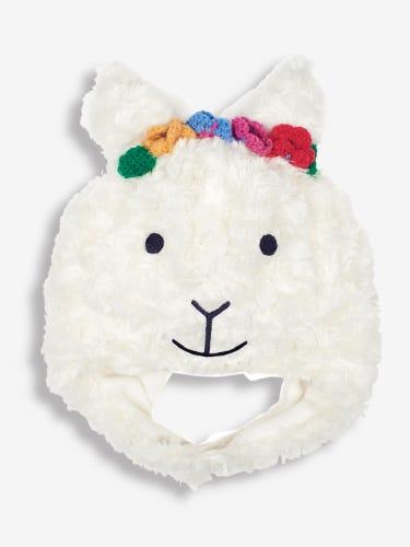 Faux Fur Llama Hat