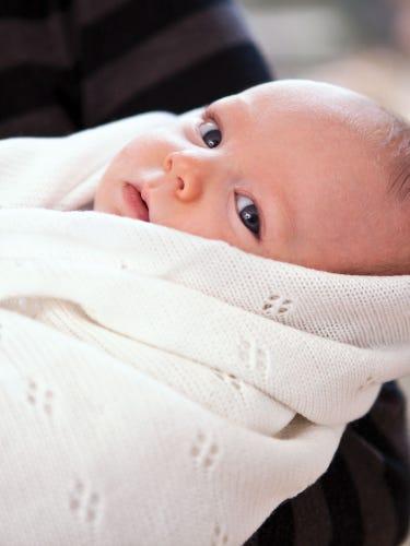 Traditional Newborn Shawl
