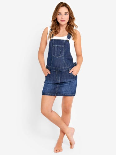 Maternity Dungaree Dress