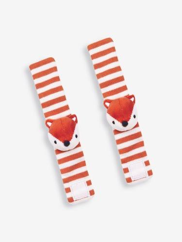 Fox Wrist Rattles