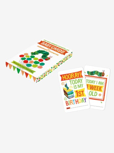 The Very Hungry Caterpillar Baby Cards for Milestone Moments