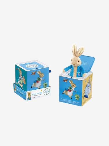 Peter Rabbit Musical Jack In A Box