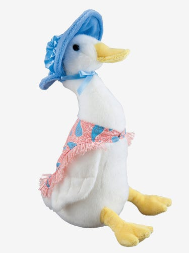 Jemima Puddle-Duck Soft Toy