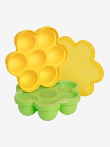 2-Pack Large Silicone Food Storage Trays