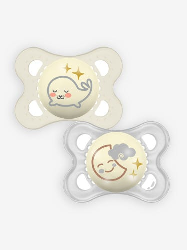 MAM Night Soothers 0+ Months Unisex