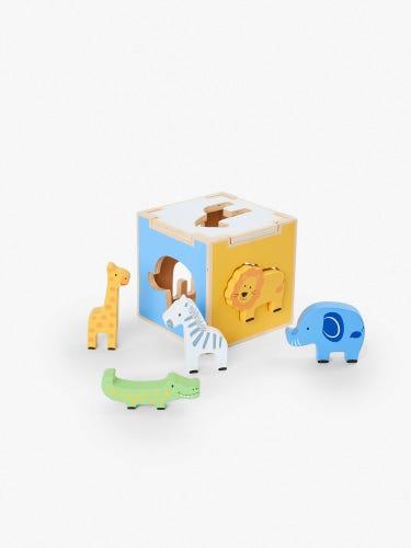Safari Shape Sorter Cube