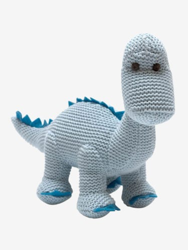 Best Years Diplo Dino Rattle Blue