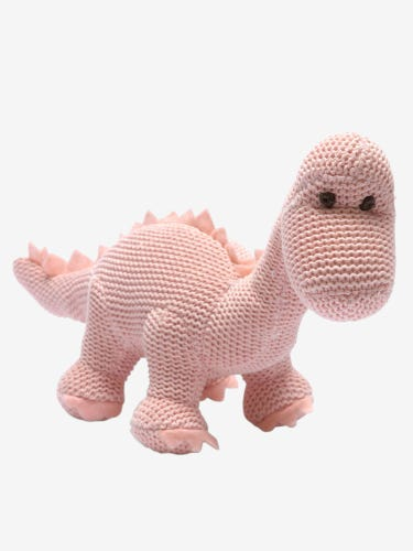 Best Years Diplo Dino Rattle Pink