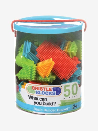 Bristle Blocks 50pc Basic Builder Bucket