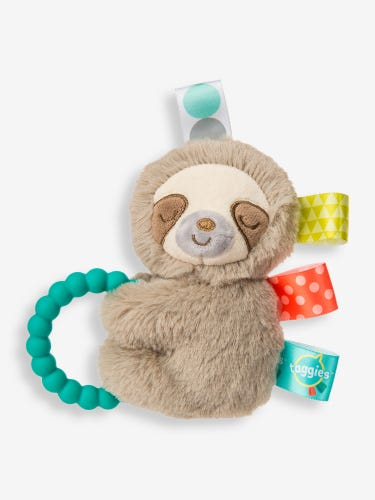 Mary Meyer Molasses Sloth Activity Rattle