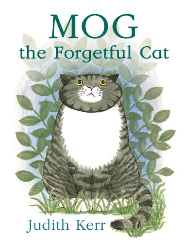 Mog the Forgetful Cat Book