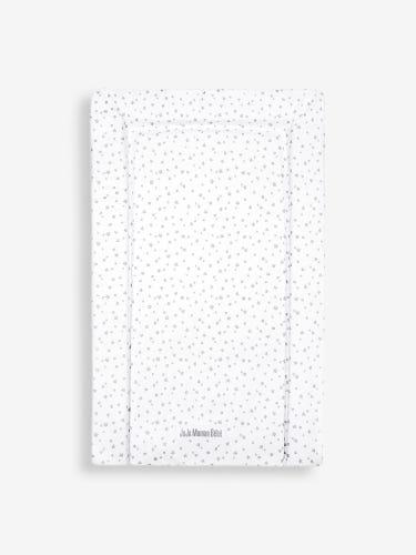 Grey Star Print Changing Mat