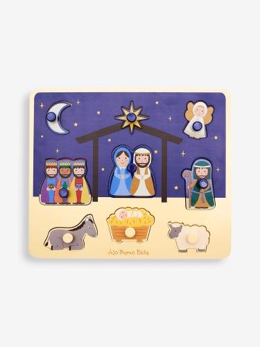 Nativity Peg Puzzle