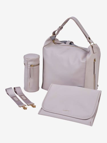 BabaBing Lucia Changing Bag Blush Grey