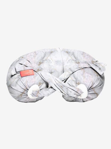 Spare Cover for bbhugme Pregnancy & Nursing Pillow in Marble