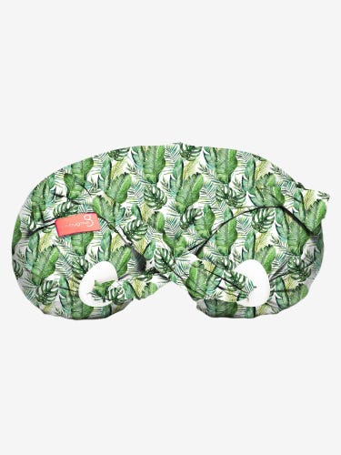 Spare Cover for bbhugme Pregnancy & Nursing Pillow in Green Leaf