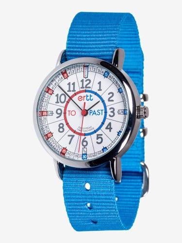 EasyRead Time Teacher Children's Wrist Watch Blue
