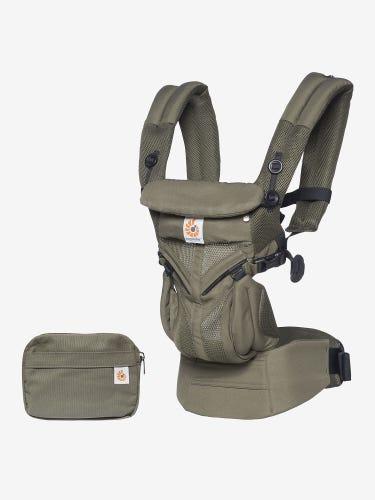 Ergobaby Omni 360 Cool Air Mesh Baby Carrier Khaki