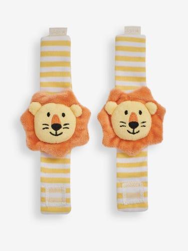 Lion Wrist Rattles