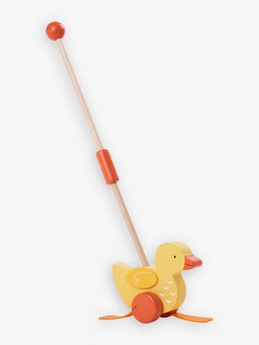 Duck Push-Along Toy with Handle