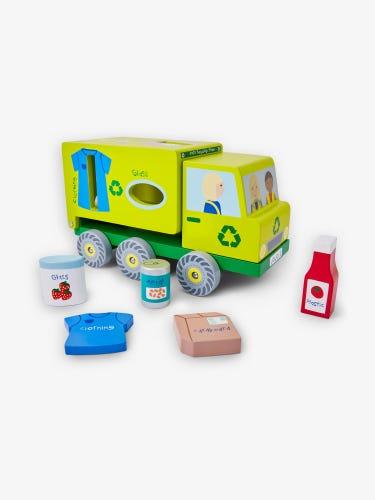 Wooden Recycling Truck Sorter
