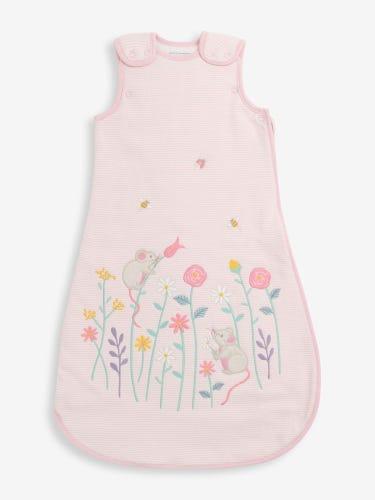 Mouse Appliqué 1.5 Tog Baby Sleeping Bag