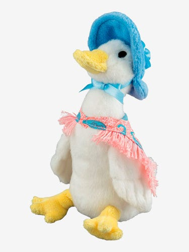 Jemima Puddle-Duck Soft Toy Small