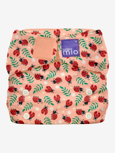 Bambino Mio MioSolo All in One Reusable Nappy - Loveable Ladybug