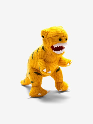 Best Years Yellow T-Rex Rattle