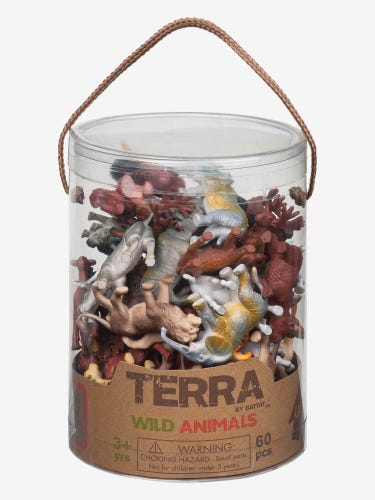 Terra Wild Animals Tube