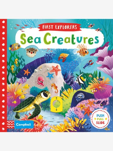 First Explorers Sea Creatures Book