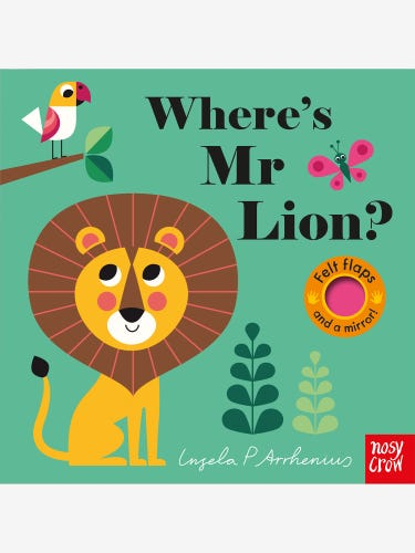 Where's Mr Lion? Book