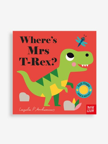 Where's Mrs T-Rex? Book