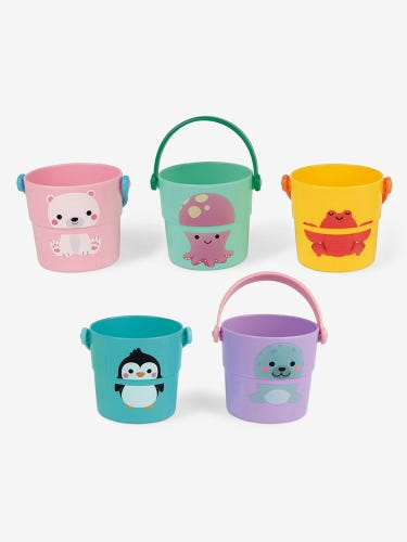Janod 5 Activities Buckets