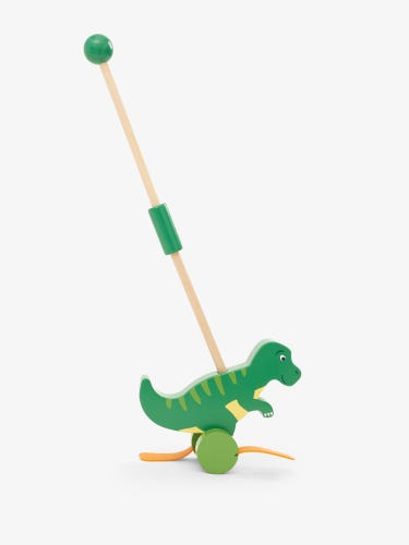 T-Rex Push-Along Toy With Handle