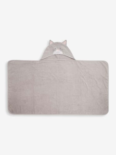Large Cat Hooded Towel
