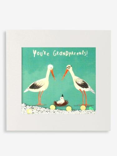James Ellis You're Grandparents Shakies Card