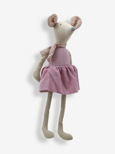 Wilberry Linen Large Mouse Girl