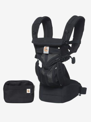 Ergobaby Omni 360 Cool Air Mesh Baby Carrier Onyx Black
