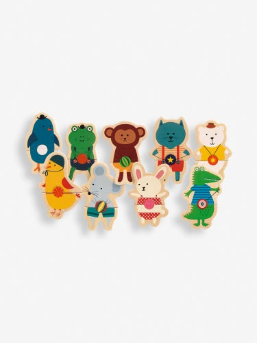 Djeco Belty Wooden Magnetic Game