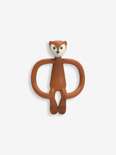 Matchstick Monkey Fudge Fox Teether
