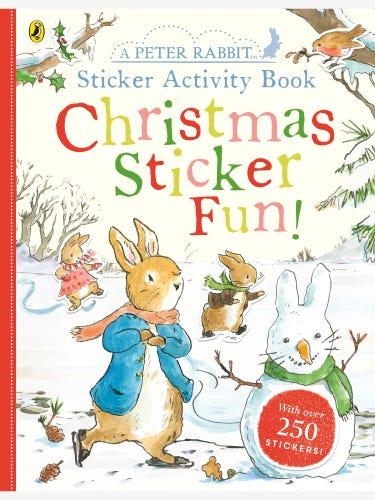Peter Rabbit Christmas Fun Sticker Activity Book