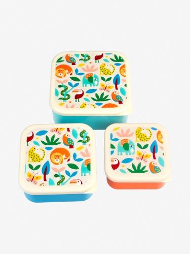 Rex London Wild Wonders Snack Pots 3-Pack